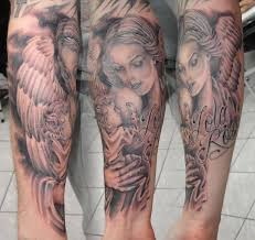 angel wing tattoos the tattoo news
