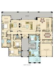 Converting Garage Into Living Space Floor Plans One Story Ranch Large Rooms Open Floor Plan Breakfast Bar Walk