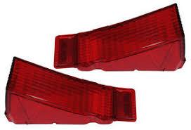 68 chevelle tail lights 1968 68 chevelle tail light lens pair malibu ss ebay