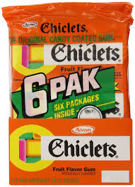 where to buy chiclets gum chiclets the original candy coated gum fruit flavor gum 7 packs of