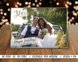 newly wed christmas card newlywed christmas cards married christmas card just