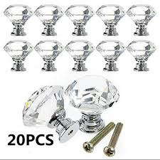 glass kitchen cabinet door pulls 20pcs 30mm clear glass cabinet knob shape drawer door pull kitchen cabinets wardrobe pulls handles