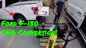 Ford F150 Natural Gas Truck - 2017 ford f 150 bi fuel conversion cng youtube