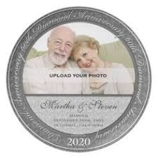 60th anniversary plate personalized 60th anniversary plate wedding 60th anniversary