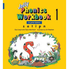 jolly phonics workbook 1 in print letters by jolly learning