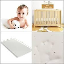 Milliard Crib Mattress Topper Milliard Mattress Pads Ventilated Memory Foam Portable Crib