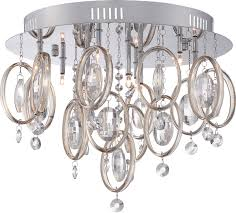 Quoizel Ceiling Light Quoizel Pcel1616c Platinum Collection Ella Polished Chrome Xenon