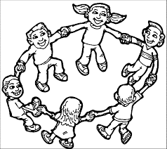 playing children coloring page wecoloringpage coloring home