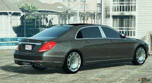 mercedes maybach 2016 2016 mercedes benz maybach s600 for gta 5