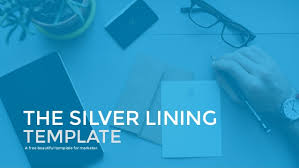 the silver lining presentation template a free beautiful template f u2026