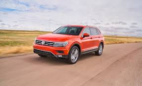 volkswagen 2018 volkswagen tiguan first drive review car and driver