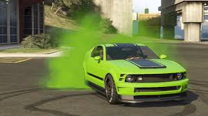 Green And Black Mustang I Can U0027t Decide On A Color Scheme For My New Dominator Gta Online