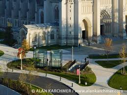 gallery of washington national cathedral visitor gateway