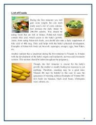 pregnancy diet ebook