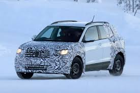 new volkswagen t cross suv spotted preparing for 2018 launch