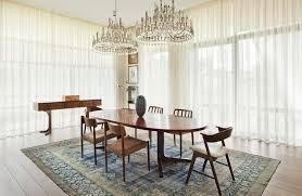 le esszimmer modern mit vintage deko und möbeln modern einrichten 50 ideen