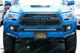 tacoma grill light bar 180w high power cree led light bar for 2016 up toyota tacoma