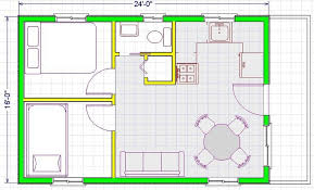 modern open floor plans 16 24 modern free house plans images small