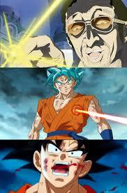 Laser Meme - goku vs kizaru laser goku vs laser know your meme