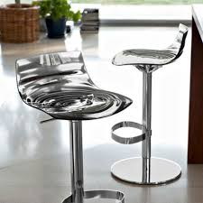 calligaris bar stool calligaris l eau bar stool with gas lift adjustable swivel base