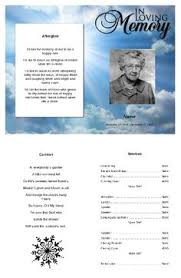 funeral programs online https www quickfuneral funeral program templates