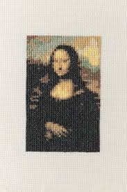 mona lisa cross stitch extract from the mr x stitch guide to