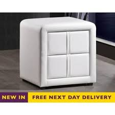 Faux Leather Bedroom Furniture - White faux leather bedroom furniture