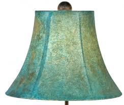 Turquoise Table Lamp Turquoise Southwest Iron Table Lamp U0026 Shade 25 Inch