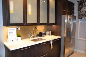 ikea frosted glass kitchen cabinets ikea kitchen cabinets ekestad ikan installations