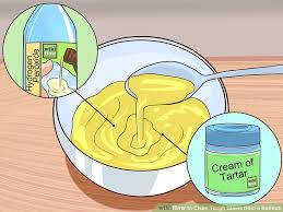 How To Get A Drain Out Of A Bathtub 3 Easy Ways To Clean Tough Stains From A Bathtub Wikihow