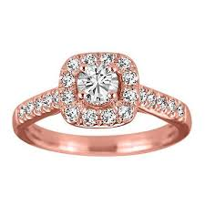 engagement rose rings images Rose gold diamond halo engagement ring rin eng 2714 jpg