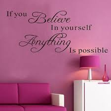 believe home decor wall stickers quotes home decor for office wall decals quotes