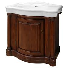 shop foremost wingate cherry integrated single sink bathroom