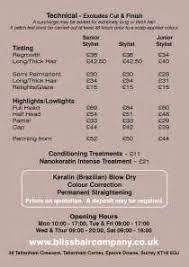 prices at regis hair salon regis hair salon price list braehead regis salon prices all