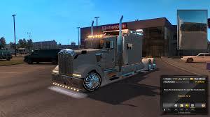 custom kenworth trucks kenworth w900l pinga remix american truck simulator mods ats mods