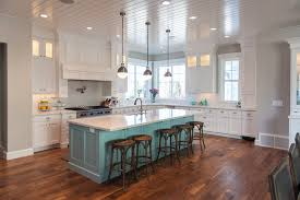 painted islands for kitchens teal kitchen island contemporary kitchen benjamin
