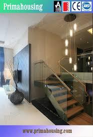 Wood Glass Stairs Design New Glass Railing Wood Stair Design View Glass Railing Wood Stair