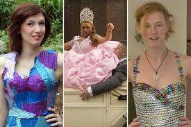 6 wackiest prom dresses actually worn to prom