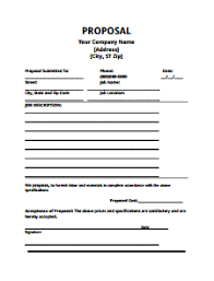 format proposal sponsorship pdf proposal template