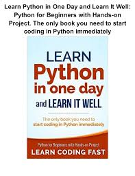 python tutorial ebook learn python in one day tire driveeasy co