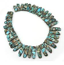 real turquoise stone necklace images Coiris 15 39 39 strand real natural turquoise stone loose beads jpg