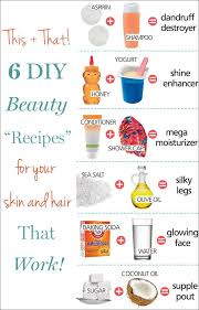 5 Natural Diy Recipes For by 126 Best Diy Beauty Ideas Images On Pinterest Beauty Tips Diy