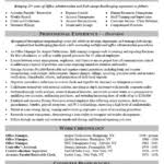 Office Administration Resume Samples by Office Administrator Resume Skills Recentresumes Com