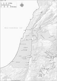 Judea Map The Early Roman Herodian Period 40 B C E 70 C E