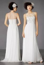 wedding dress necklines illusion neckline wedding dresses chic