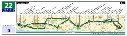 Air France Route Map by Ratp Route Maps For Paris Bus Lines 20 Through To 29