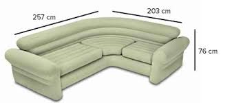 canap gonflable intex canapé sofa d angle beige gonflable intex jardideco