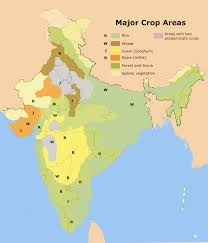 India Maps by File Major Crop Areas India Png Wikimedia Commons
