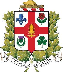 ville de montréal official city portal coat of arms flag and