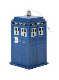 doctor who tardis ornament topic
